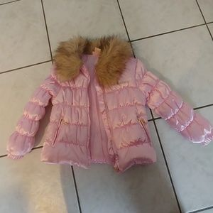 Toddler Girls  Juicy Couture Puffy Coat 3t